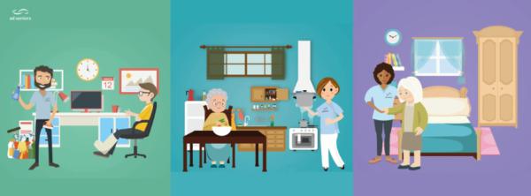 aux services des seniors